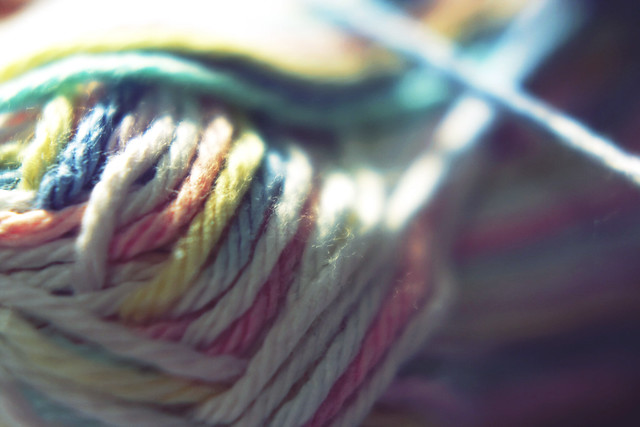 Day 140 - Colourful Yarn