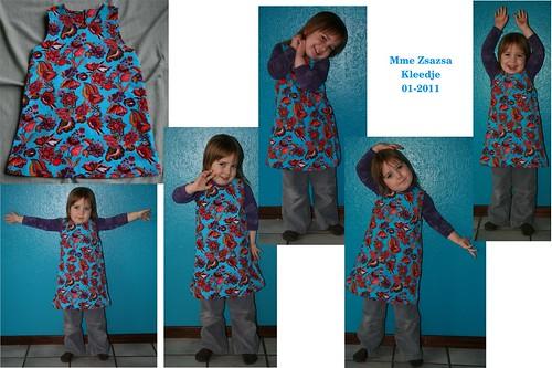 Mme Zsazsa kleedje (01-2011)