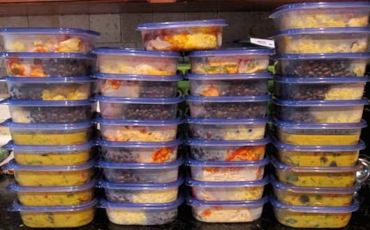 35 meals for the freezer!  Yay!