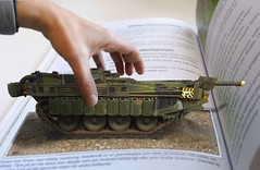S-tank pop up book. (Micael Carlsson) Tags: cold up photoshop model war tank sold military s swedish pop armor montage sverige armour forces svensk panzer armed kalla montague tema stridsvagn cs5 kriget pansar moderskeppet frsvar armn frsvaret bildebehandling