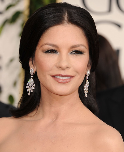 Golden Globes Catherine Zeta Jones. Catherine Zeta-Jones con