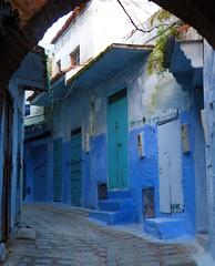 (Funky Tee) Tags: mountains ma nikon morocco coolpix picnik rif chefchouen kif chouen p80