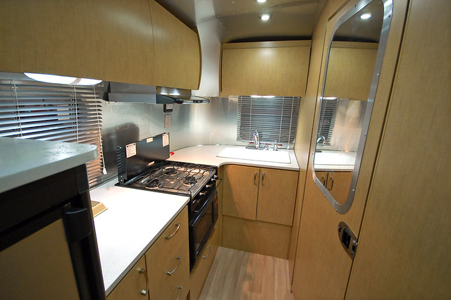RV Show - airstream interior