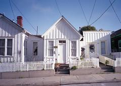 (m. wriston) Tags: california house color film 35mm rangefinder powerlines negative suburbs pacificgrove manualfocus olympusxa fujisuperiaxtra400 autaut