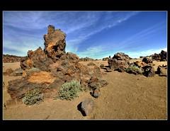 Formes volcàniques (crossa) Tags: nikon canarias tenerife 1855mm teide hdr vulcano gmt volcan volcán volcà parquenacionaldelteide d300s