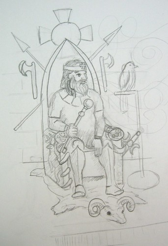 The Emperor - Outline - reject 2