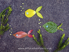 Aquarium (Artful Kid) Tags: art nature landart kidsactivities outdooractivities