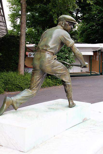Place des Mousquetaires - Roland Garros