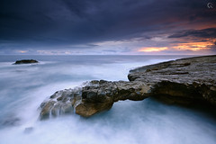 Easter Sky (CResende) Tags: bridge sunset sky seascape portugal nature colors day earth nikkor blast cascais overflow d800 1635 pnsc cresende