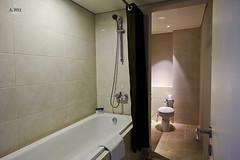 Shower and bathtub (A. Wee) Tags: fourpoints spg kuta bali  indonesia  resort hotel  bathroom