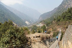 The Dudh Kosi valley (D A Scott) Tags: nepal himalayas mountains everest base camp trek