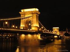 Lined up (Manon van der Burg) Tags: powerrrrshot kettingbrug budapest boedapest hongarije nighttime architecture skyline bridge sx60 afterdark canon tripod outofplace overwelmed