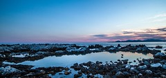 Antibes, France (JoëlVerheyen) Tags: sunset france antibes rocks sea