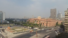 The Egyptian Museum (Rckr88) Tags: egypt cairo africa misr egyptian museum museums cultural culture egyptianmuseum nile nileriver river rivers city skyline skyscrapers skyscraper travel tahrir square tahrirsquare