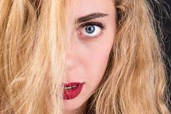 Half (albi_tai) Tags: modella posa ritratto studio studio157 bt luce viso occhio capelli mezzo half donna persone albitai nikon nikond750 d750 francescasusannacionti bestportraitsaoi
