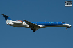 G-RJXG - 145390 - BMI Regional - Embraer EMB-145EP - Heathrow - 100617 - Steven Gray - IMG_4321