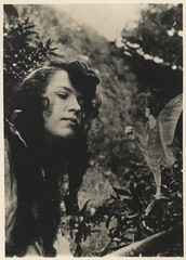 The Cottingley Fairies (unexpectedtales) Tags: old white black halloween strange vintage wonderful found weird photo shot antique snapshot surreal snap photograph vernacular unusual enigmatic peculiar peculier unexpectedtales vernaculat