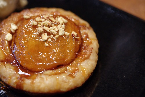 Caramelized Okanagan apple & almond galette @ NOtaBLE