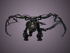 Nightfury Preview (retinence) Tags: train dragon lego your how fusion bionicle toothless nightfury httyd