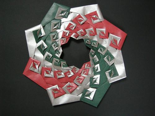 Spiral wreath