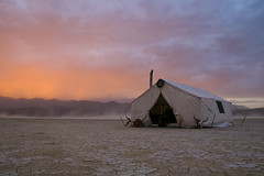 Sunset and Storm on the Playa (eaross1961) Tags: ranch black rock fly desert nevada geyser