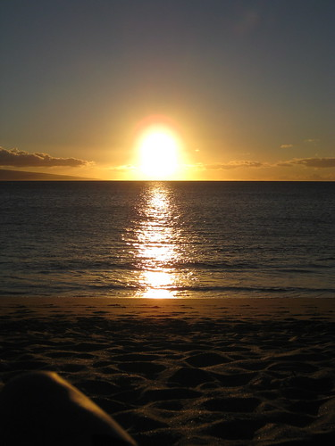 a Maui sunset, does it get any better?
