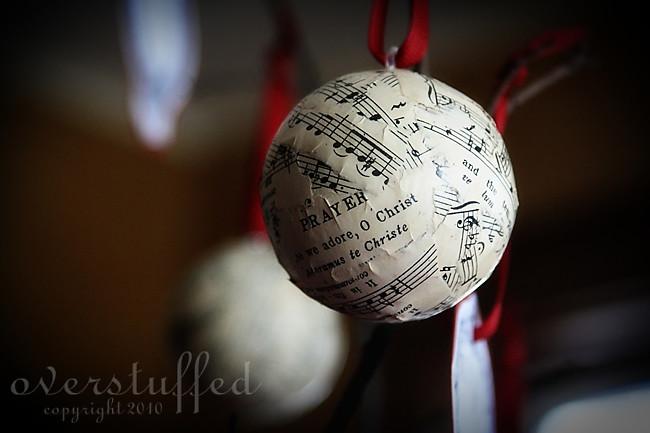 Papier Mache Ornament