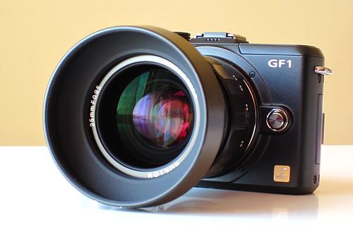 Voigtlander Nokton 25mm f/0.95 MFT