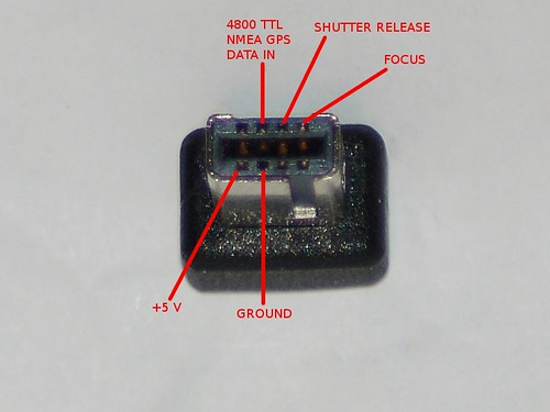 Nikon D90 10 Pin Connector Pinout (Front)