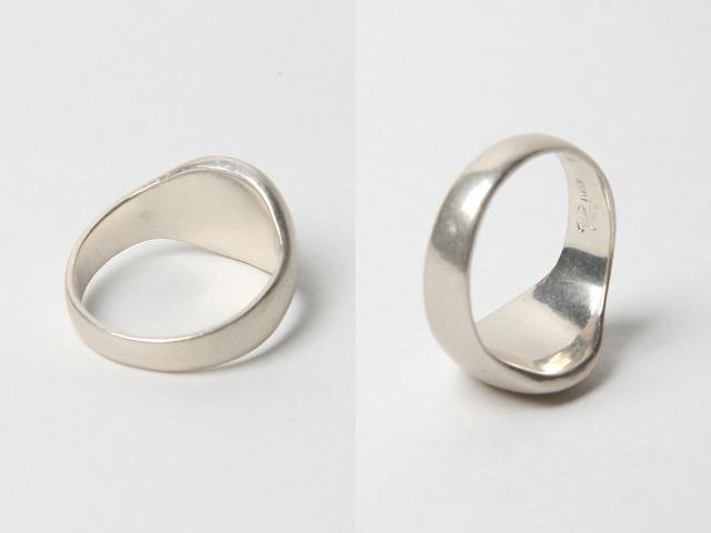 Martin Margiela silver ring 01b