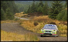 Jari-Matti Latvala / Miika Antilla - Ford Focus WRC (Rally_Captures) Tags: green ford canon eos focus rally lewis wrc 7d gb matti motorsport jari rallygb miika fordfocus rallying antilla rhodri worldrally latvala walesrallygb resolfen worldrallychampionsip wwwbritishrallycouk