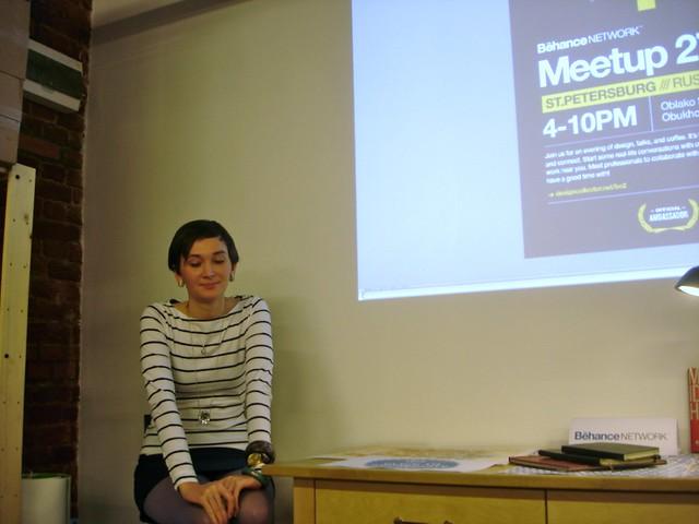 Elena Gordeeva @ Behance Russia Meet Up 2