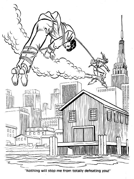 Spider-Man Unmasked! Coloring Book031