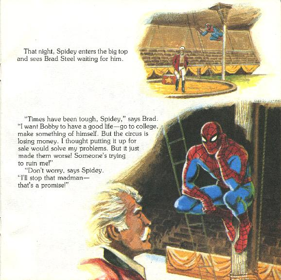 Spider-Man - The Big Top Mystery016