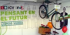Herrera i bici Fira Novembre Vilanova
