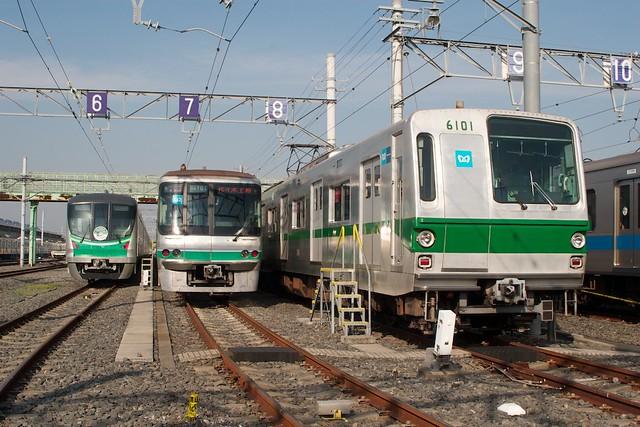 東京メトロ千代田線 6000系,06系,16000系
