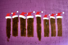Mr Hanky and friends wish you a Merry Christmas