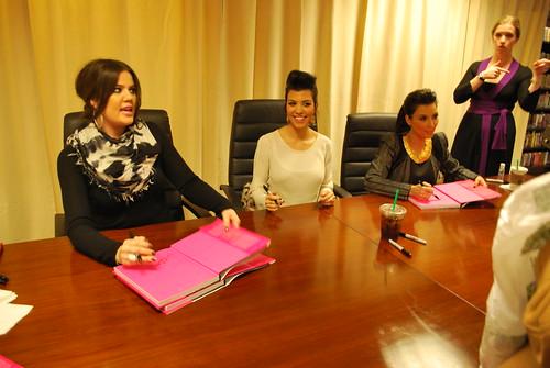 NYC Kardashian Konfidential Book Signing 11.30.10