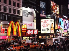 Times square (al-absi) Tags: ny newyork sign square manhattan olympus mcdonalds times fridays 1442 e620
