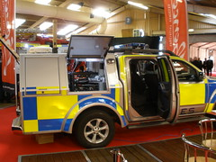 Nissan Navara 'Thales' EOD Response Vehicle Demo (ModellerRob's ESV Photos (One)) Tags: demo nissan eod vehicle response thales navara