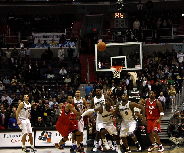 gilbert arenas, john wall, washington wizards, nba, jump ball