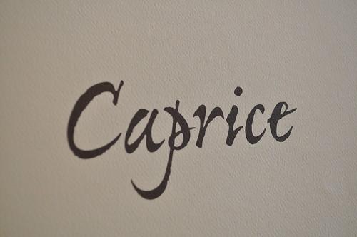 caprice, four seasons