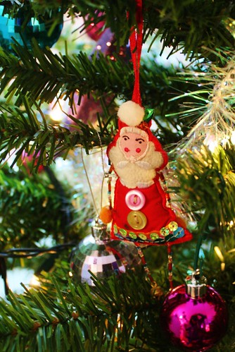 Christmas Tree Close Up