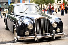 1958 James Young Bentley S1 Continental 4-door Sports Saloon () Tags: auto street camera city uk greatbritain vacation england holiday london classic westminster car calle nikon d