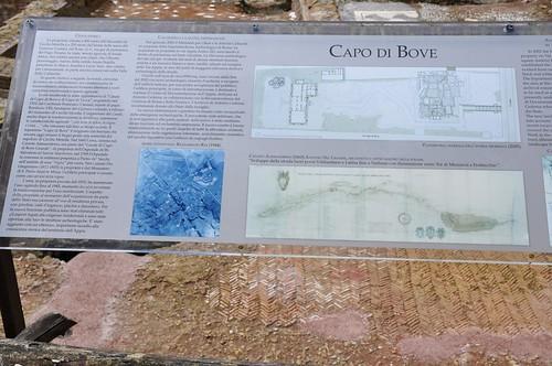 Roma (Řím, Itálie), Via Appia Antica, Capo di Bove