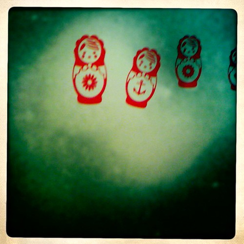 Matryoshka wall detail