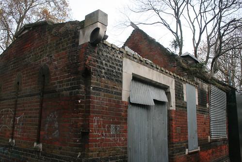 Ruined museum