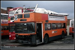 Pass the Paracetamol! (Zippy's Revenge) Tags: bus accident transport leyland wigan greatermanchester lowbridge roofdamage atlantean gmbuses northerncounties ncme 4480 snd480x