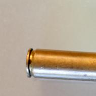 bullet from 21-gun salute