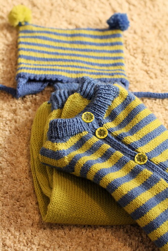 Nydelig strikkesett